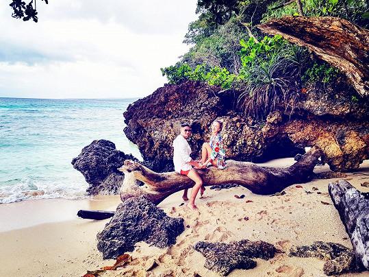 Dokonalý relax si dopřáli na Filipínách.