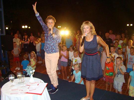 Na dovolené v Chorvatsku měli pro děti připravený zábavný program.