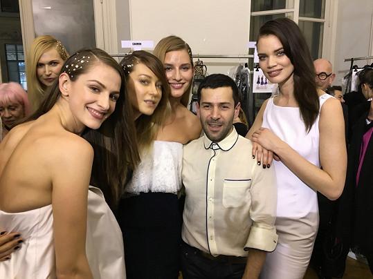 Vojtová dorazila do Paříže na pozvání návrháře Alexise Mabilleho.