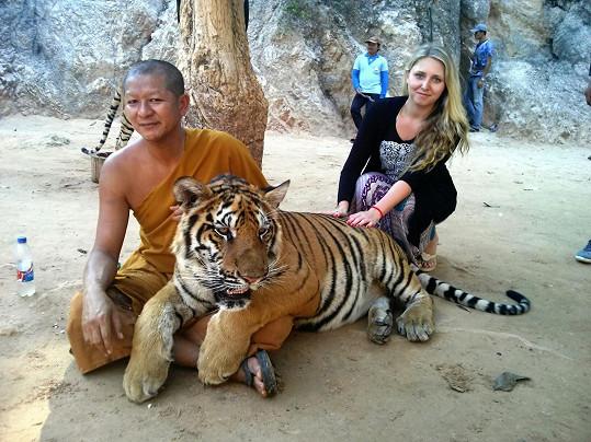 Zuzana po tátovi zdědila cestovatelskou vášeň.