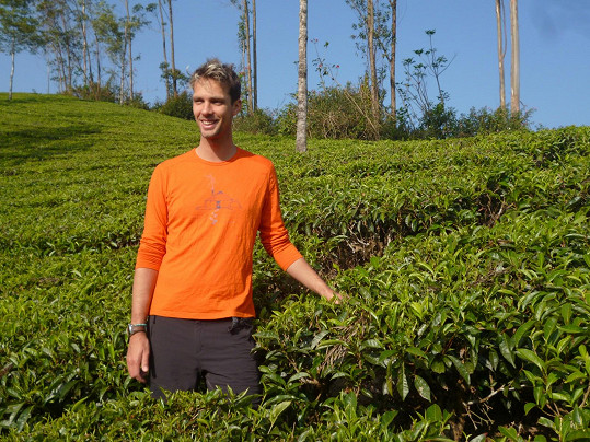 Navštívili i čajové plantáže.