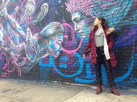 Sabinu nadchl newyorský street art.