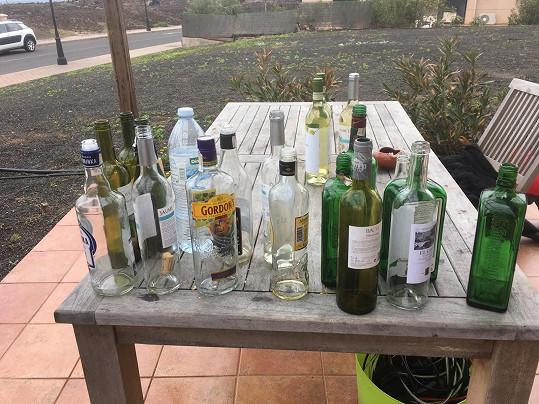 Alkoholem se nešetřilo...