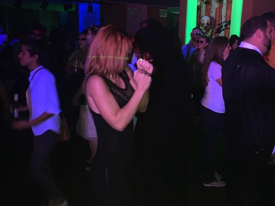 Míša na tanečním parketu