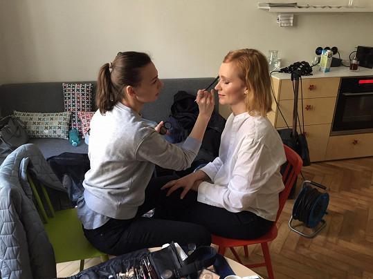 Příprava make-upu