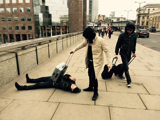 Bubeník Chinaski Marpo se svou kapelou TroubleGang řádil v Londýně.