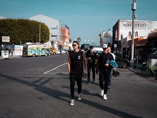 Natáčení probíhalo v Los Angeles.