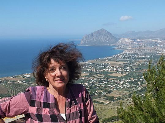 Marie Rottrová už na dovolené u moře letos byla.