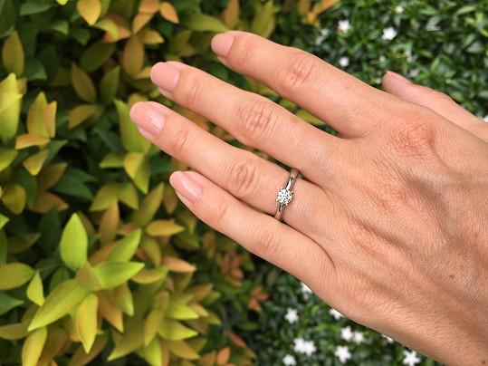 Sandra Parmová se zasnoubila.