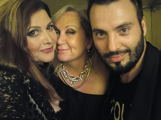 Na koncertě v Českém Krumlově si udělala i svou vůbec první selfie.