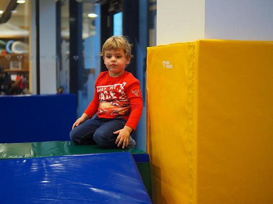V dětském fitku skvěle vybije přebytečnou energii.