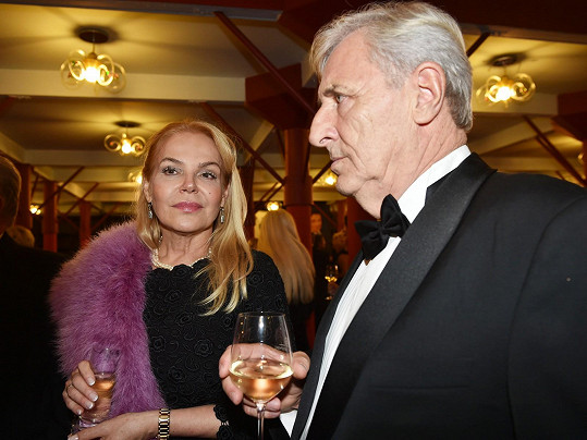 Zastavila se i s Karlem Heřmánkem.