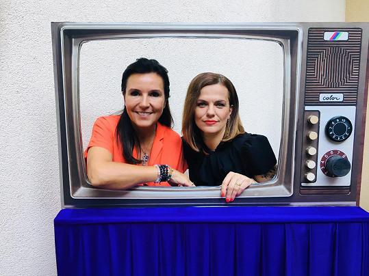 Marta a Martina Jandovy spolu teď pracují na jednom pořadu.