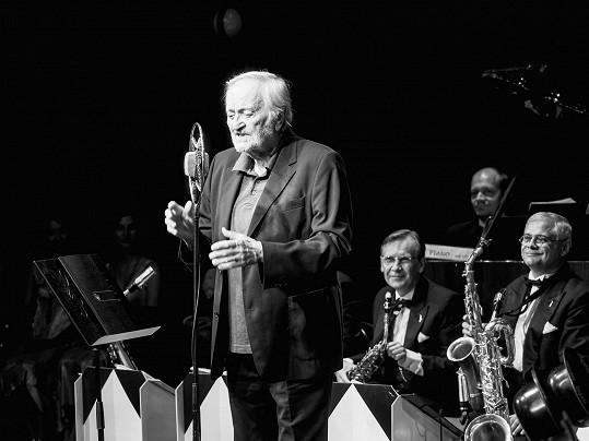 Milan Lasica při svém posledním vystoupení