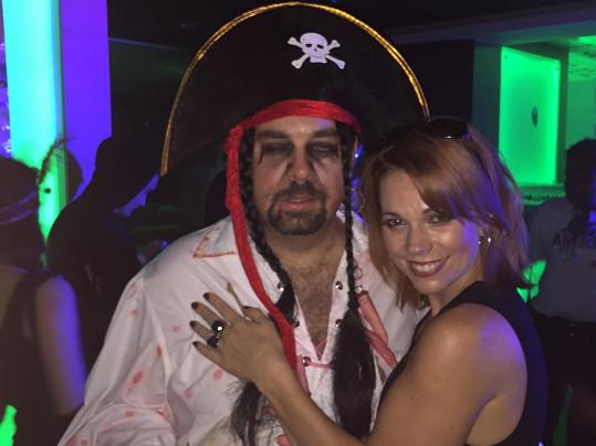 S vtipným pirátem na párty