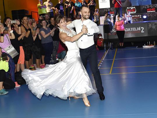 S Markem Dědíkem tancuje i po skončení StarDance.