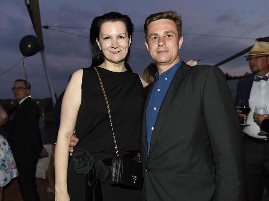 Táňa Kovaříková s přítelem Davidem