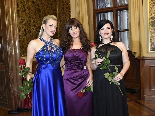 S kolegyněmi z Opera divas zpívaly na Ženě regionu.