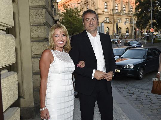 S dlouholetým partnerem Milanem