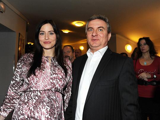 Vratislav Mynář s manželkou Alex
