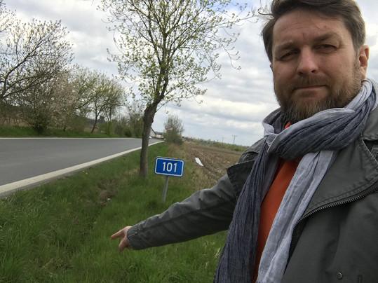 Tomáš Hauptvogel před dvěma roky přežil děsivou nehodu.