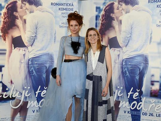S Denisou Nesvačilovou, která hraje ve filmu hlavní ženskou roli.