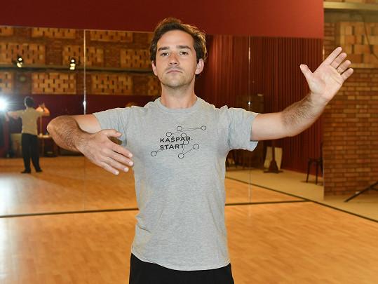 Do tréninků se herec pustil s vervou.