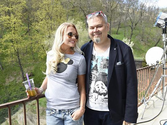 S režisérem filmu Tomášem Svobodou