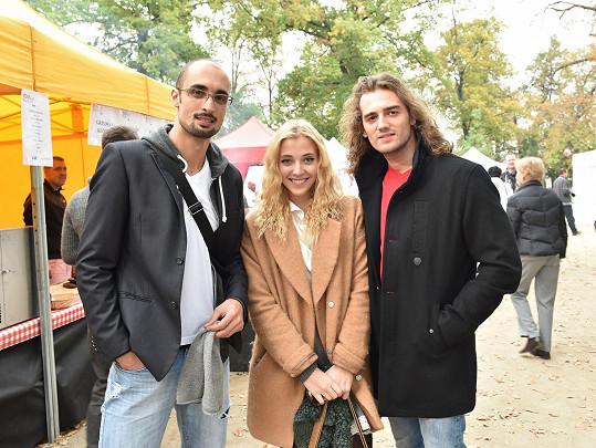 S Petrem Strenáčikem a Janem Kopečným
