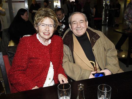 S partnerkou Hankou, která je Gottovou sestřenicí.