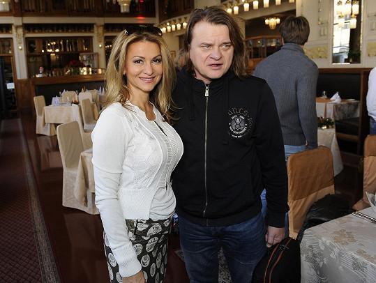 S kolegou Vilémem Čokem, s nímž si zahraje v Angelice.