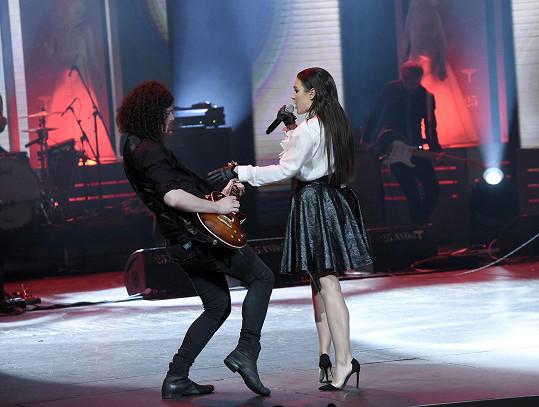 S kytaristou Martinem Chobotem je Ewa šťastná i ve svém soukromém životě.