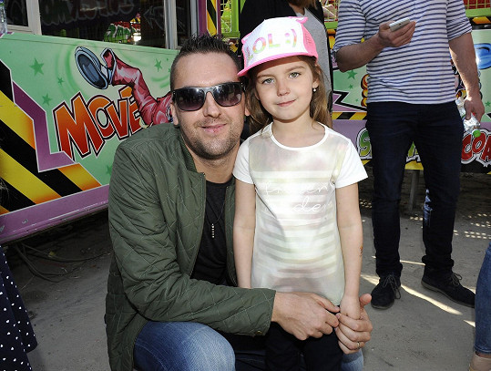 Petr Plintovič s dcerou Nicolkou