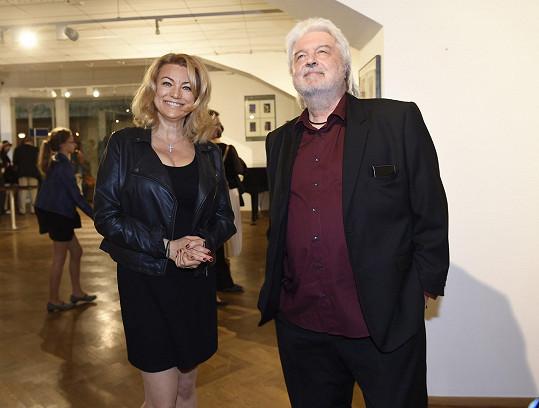 S manželem Dušanem Rapošem