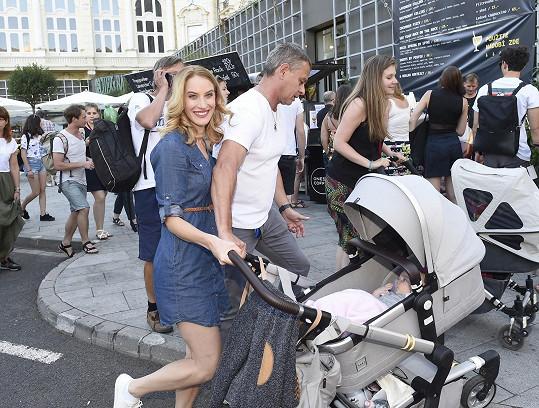Do Varů přijeli i s dcerou Sofinkou.