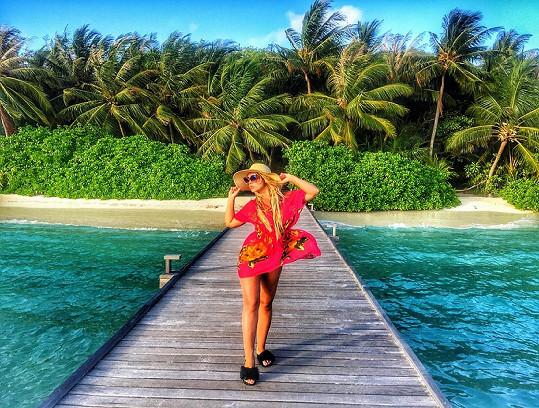 Dovolená na jednom z nejkrásnějších míst na světě na Maledivách.