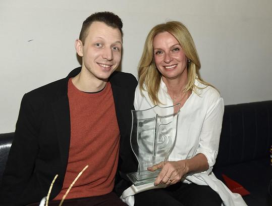 Ivana Chýlková a její taneční partner František Kopecký