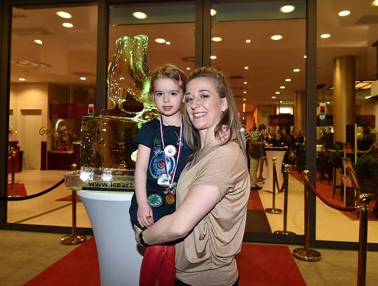 Radka s dcerou Klárkou