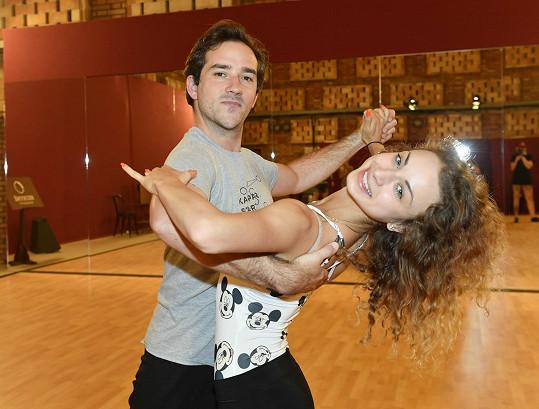 S tanečnicí Natálií Otáhalovou