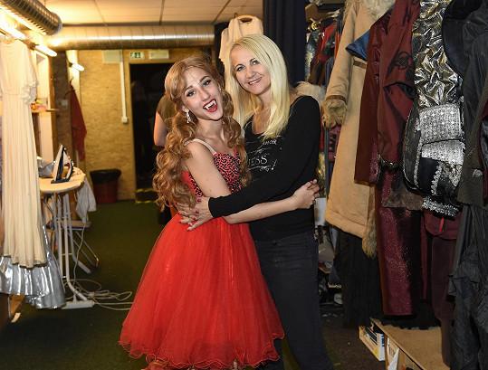 S maminkou Šárkou