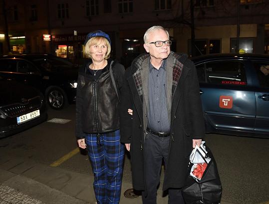 Karel Smyczek s manželkou