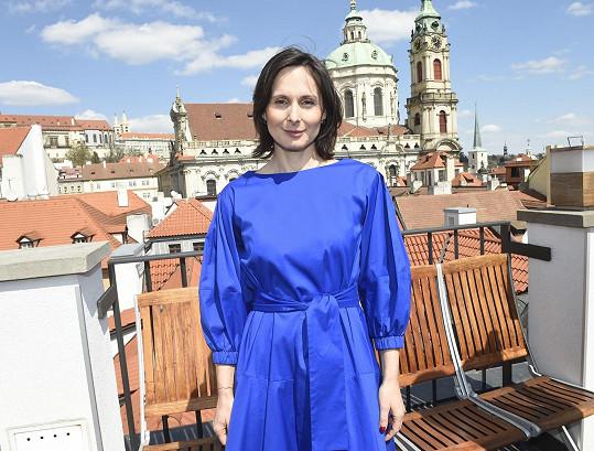 Pogratulovat přišla i herečka Zdeňka Žádníková.