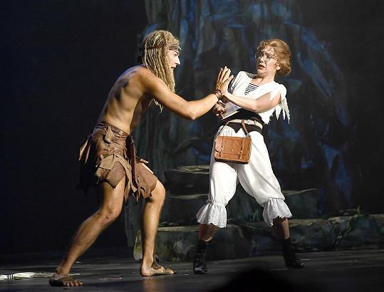 V muzikálu Tarzan jako Jane