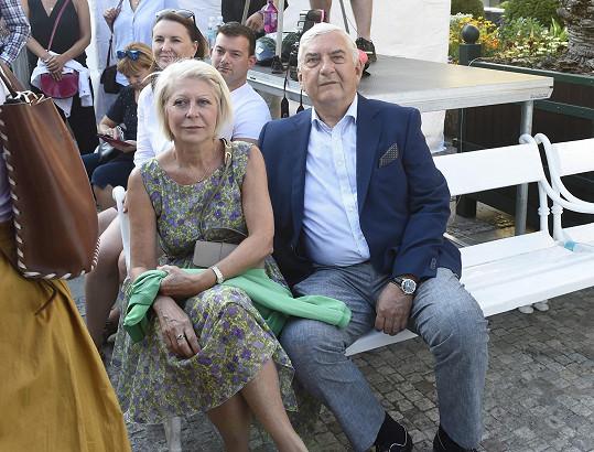 Na program se přišli podívat i manželé Donutilovi.