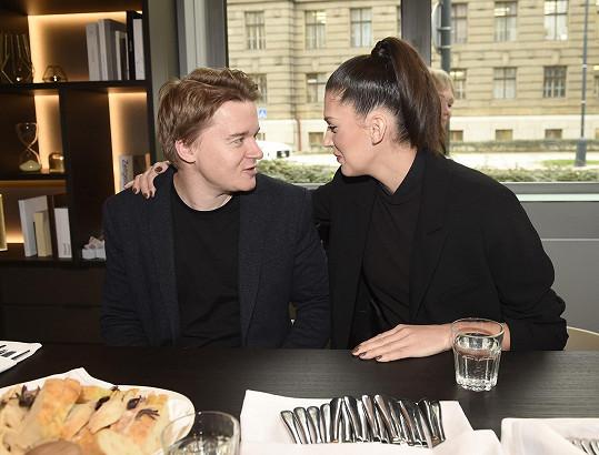 Aneta s přítelem si dopřáli gurmánský zážitek na představení gastronomické skupiny La Place.