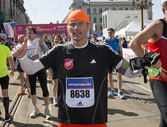 Dalibor Gondík uběhl další ze svých půlmaratonů.