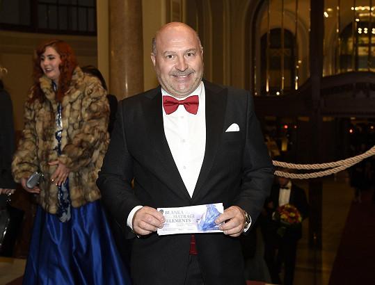 Mezi pozvanými byl i král českých diskoték Michal David.