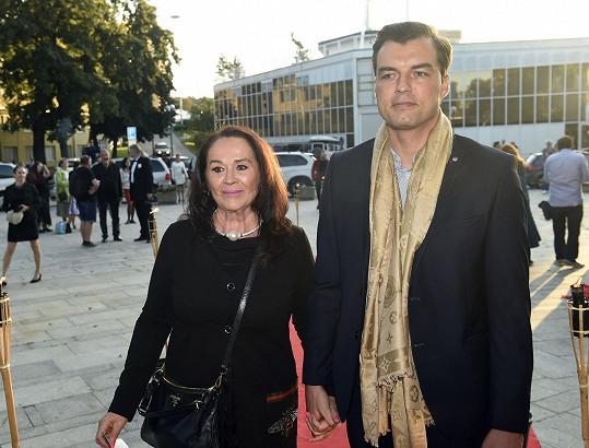 Ondřej Koptík, přítel herečky Hany Gregorové