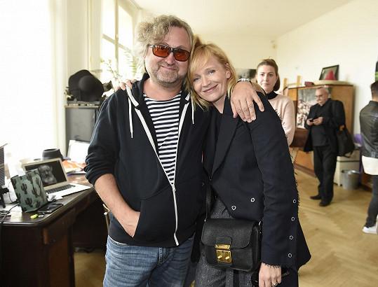 S režisérem Zahradnictví Janem Hřebejkem