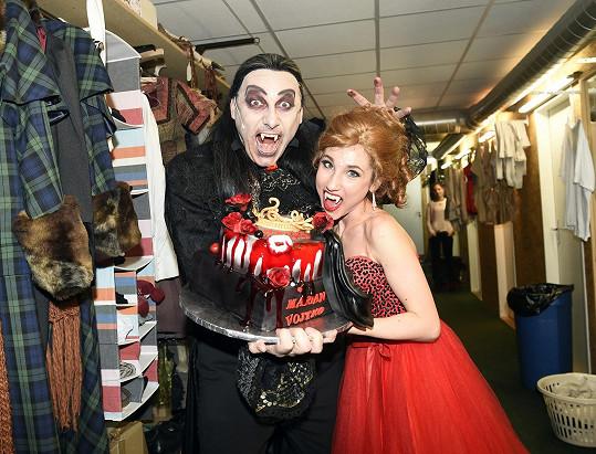 S Natálkou Grossovou po představení